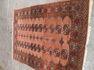 very large antique vintage rug carpet  wool 184 x 123 cm approx
