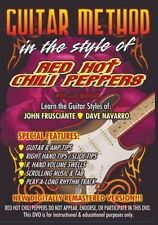 Guitar DVD - RED HOT CHILI PEPPERS - Guitar Method Lesson Curt Mitchell Tab NEW