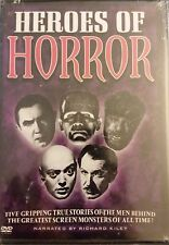Heroes of Horror (DVD, 2-Discs) Cult Classics DVD  RARE OOP Fast free Shipping