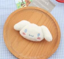 Cute Cinnamoroll Plush Doll Brooch Backpack Collar Hat Lapel Badge Brooches Pin