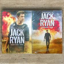 Tom Clancy's Jack Ryan Season 1 - 2  (6-Discs,DVD) Free First Class US Seller