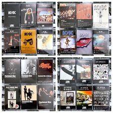 Build Ur Own Cassette Lot - Classic Rock - Zeppelin, Pink Floyd, Bowie + More!