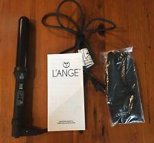 Lange Hair Curling Wand Ondule 32mm Tourmaline Black CeramicBeauty New