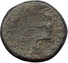 Augustus 27BC  Prymnessos in Phrygia Dikaiosyne JUSTICE RARE Roman Coin i50330