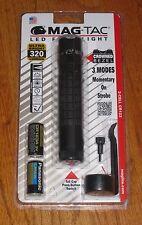 Maglite Mag-Tac Matte Black Scalloped Bezel SG2LRA6 Magtac