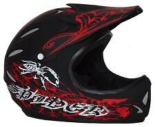 Downhill / Freeride / BMX / Dirt Helm FH40-Spider rot Größe XXXS bis XL NEU !