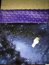 "American Girl Luciana spaceman space galaxy stars bed blanket quilt NEW 18"" doll"