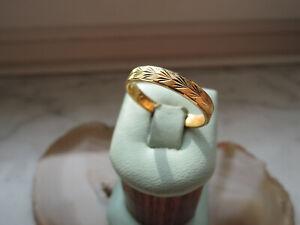 925 Silber Damenring vergoldet 20,4 mm Schmuck Damen Herren 238