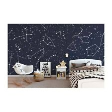 Original wall deco Mural sticker children's room nursery DAYCARE star in the sky