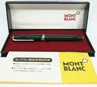 Montblanc Meisterstuck #14 Fountain Pen Green / Verde with original Box