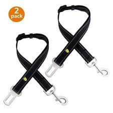 "Dog Seatbelt (2P)Adjustable 15""-28"" pet Vehicle Seat Belt Safety For All Vehicle"