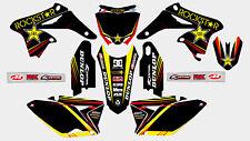 09 NEW ROCKSTAR Decal Sticker ATV Dirt Bike SUZUKI H DE22