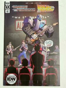 Nycc 2020 Exclusivité Transformers / Back To The Future #1 Variante
