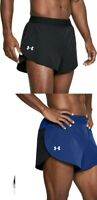 Under Armour CoolSwitch Split Running Shorts S M L Black Blue NEW MEN