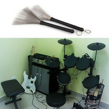 2Pcs Retractable Loop End Drum Brushes For Jazz Drum Stick Musical Accessories