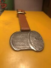 ANTIQUE BRODERICK & BASCOMO ST. LOUIS MO. WIRE ROPE WATCH FOB