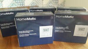 HomeMatic Funk-Wandthermostat, 5 Stück, ausgepackt jedoch nicht verbaut worden