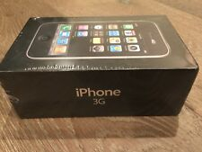 New Sealed Apple iPhone 3G - 8GB - Black Smartphone MB503LL/A Collector Item