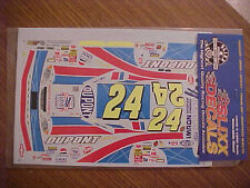 NEW 2003 JEFF GORDON #24 WRIGHT BROTHERS 100 YEARS 1/24-1/25 SLIXX DECAL SHEET