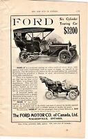 "Vintage 1906 Magazine Ads from ""Rod and Gun in Canada"" FORD & DUPONT SMOKELESS"