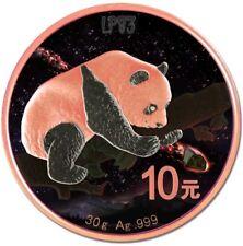 2016 30 Grams Chinese FUKANG Panda Atlas of Meteorites Silver Coin 10 Yuan China