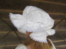Pioneer 1800s Clothing Accessories Night Cap ~White Mop Hat~Child Size Free Ship