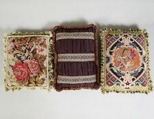 Two Needlepoint Pillows And A Third Lot 260