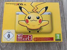 Console Nintendo 3DS XL jaune Pikachu - édition limitée