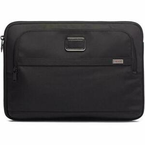 Tumi Alpha 3 Large Laptop Cover Black One Size With Free Monogramming