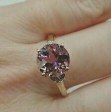 10ct Gold Ametrine Ring - Size P 1/2 - 2.75 Carats