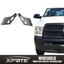 "50"" Straight Curved LED Light Bar Mount Bracket for Dodge RAM 1500 2500 3500"
