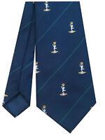 Royal Corps of Signals Regimental Military Tie Cap Badge Motif p291