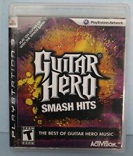 Guitar Hero Smash Hits PlayStation 3 Music Rock Band Video Game