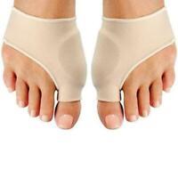 2Pack Big Toe Splint Straightener Corrector Foot Pain New Relief Valgus U6J4