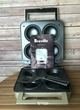 Breville The Personal Pie BP1640XL 4 Individual Pie Maker W/INSTRUCTION BOOKLET