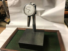 MACHINIST LATHE MILL Granite Comparator Surface Plate & Drop Indicator Gage OfCe