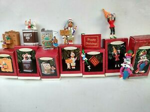 Hallmark Keepsake Ornaments 1993 1995 1996 1997 Collectible Assorted In Box
