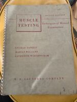 Muscle Testing Techniques Examination Manual Illustrated Daniels Worthington NR!