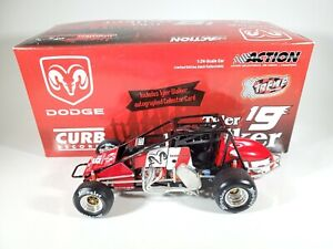 ACTION 2004 TYLER WALKER DODGE #19 AUTOGRAPHED SILVER CROWN/SPRINT EXTREME NEW