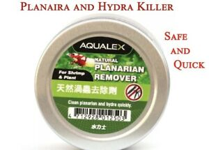 Aqualex Natural Aquarium no Planaria Hydra Remover Dose For 50 Liters !!
