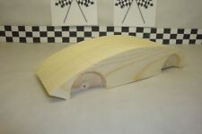 Pinewood Derby Pre-cut Ferrari 512 Coupe, A Cool Light Car!..Easy to work with!