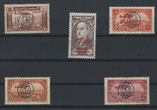 SYRIA, SYRIE, STAMPS 1944 YVERT 107- 111 **