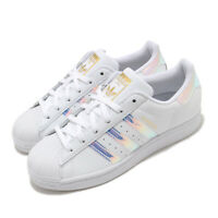 adidas Originals Superstar W Iridescent White Gold Women Classic Shoes FX7565