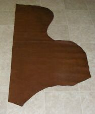 (QXE9929) Part Hide of Dark Brown Cow Leather Hide Skin
