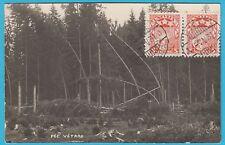 D.  Ansichtskarte Lettland   Pec Vetras  1931