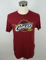 NBA Cleveland Cavaliers Mens SS Crew Neck Wine T Shirt by Fanatics Medium