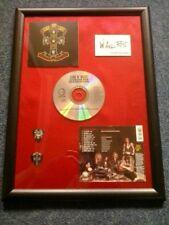 GUNS N' ROSES - APPETITE FOR DESTRUCTION Framed CD Album W/ Facsimile Autograph