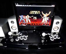 Double PC USB Fighting Stick Arcade PK Joystick 6 key botton Street Fighter Game