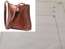 Leather Pattern DIY Designs Women Bag Paper Sweing Template Tools 9015