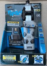 SpeedHex FlipOut 2 Rechargeable Power Driver with Removable Battery and Bits
